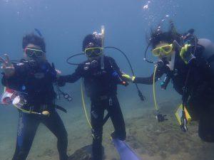 2019年8月13日体験ダイビング