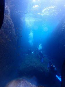 音海洞窟ポイント