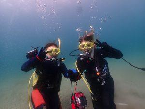 2019年11月10日体験ダイビング